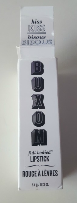 buxom full bodied lipstick packaging