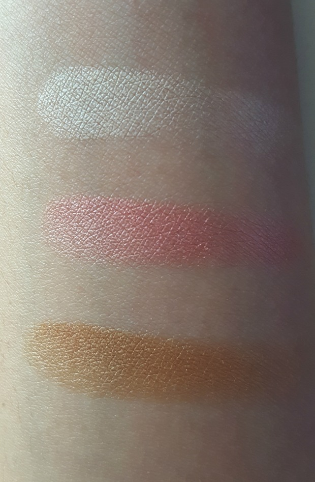 lg sunset glow swatches